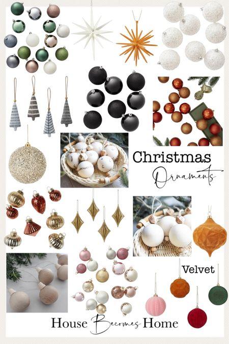 Christmas ornaments   #LTKHoliday #LTKhome #LTKSeasonal