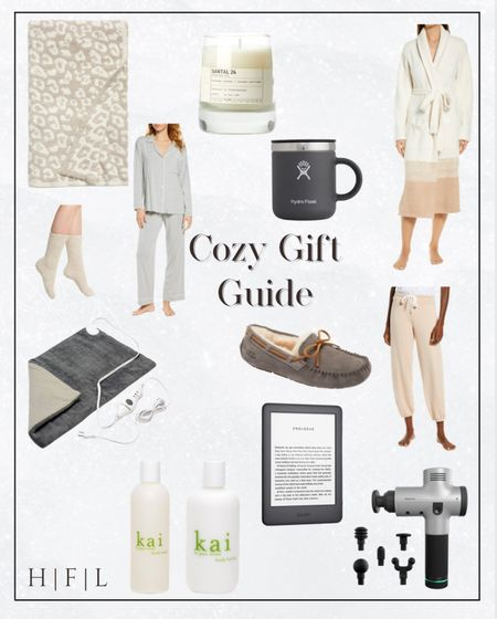 Get a head start on your holiday shopping!  Barefoot Dreams leopard blanket, eberjay pjs, Lelabo candle in my favorite scent Santal 26, Hydro Flask Insulated Mug, Barefoot Dreams robe, Barefoot Dreams cozy socks, Ugg Slippers, the softest Eberjay joggers, heating pad, Amazon, kindle, Kai bubble bath and body lotion, hypervolt massage gun, Her Fashioned Life  #LTKHoliday #LTKunder50 #LTKSeasonal