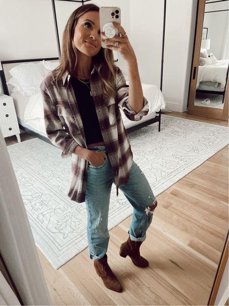 xs in shacket / 26 in jeans  #LTKSale
