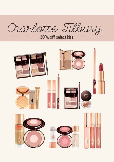 Charlotte Tilbury. Makeup. Beauty. Sale. Best lipstick. Best setting spray.   #LTKstyletip #LTKbeauty #LTKsalealert