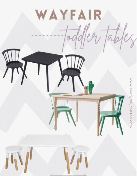 Wayfair toddler tables Gifts for toddlers Playroom decor, home decor Kids room  #LTKkids #LTKfamily #LTKhome