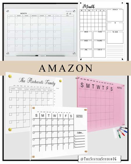 Acrylic wall calendars from Amazon!     #LTKworkwear #LTKfamily #LTKhome