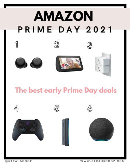 Amazon prime day deals 2021  Echo Dot l Smart Plug l Echo Auto l Controller l Buds l   #LTKhome #LTKsalealert