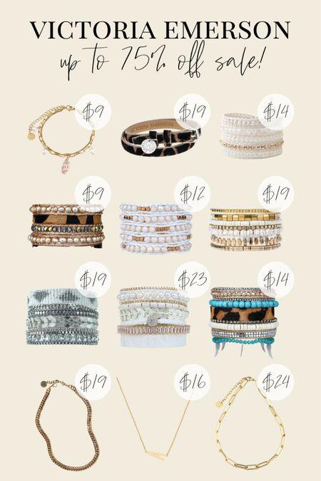 Victoria Emerson huge sale🤩 up to 75% off their bracelets and necklaces!! Tons of my favorite wrap bracelets are on sale🥰  #LTKstyletip #LTKsalealert #LTKunder50