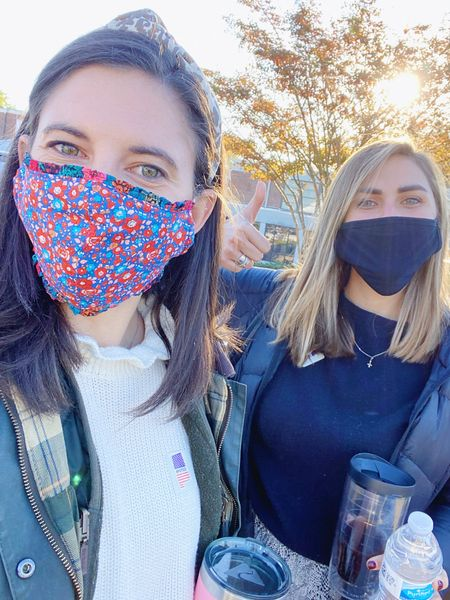 I'm loving these Liberty of London face masks that I found at J.Crew! They came as a pack of two and fit much better than many of the masks I own and the ruffle detail is too cute. @liketoknow.it #liketkit #LTKunder50 #LTKunder100 http://liketk.it/30Hdx