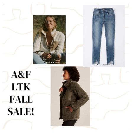 Fall LTK / LikeToKnowIt / beverlin / the A&F Sale is here sept 20-22 and I love this cozy Sherpa pullover and distressed boyfriend jeans  http://liketk.it/2WUHp #liketkit @liketoknow.it #LTKsalealert #LTKfamily #LTKunder100 @liketoknow.it.brasil @liketoknow.it.europe @liketoknow.it.family @liketoknow.it.home Shop your screenshot of this pic with the LIKEtoKNOW.it shopping app