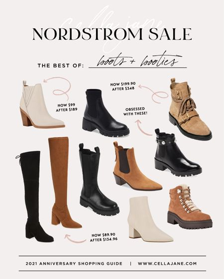 Nordstrom anniversary sale boots and booties
