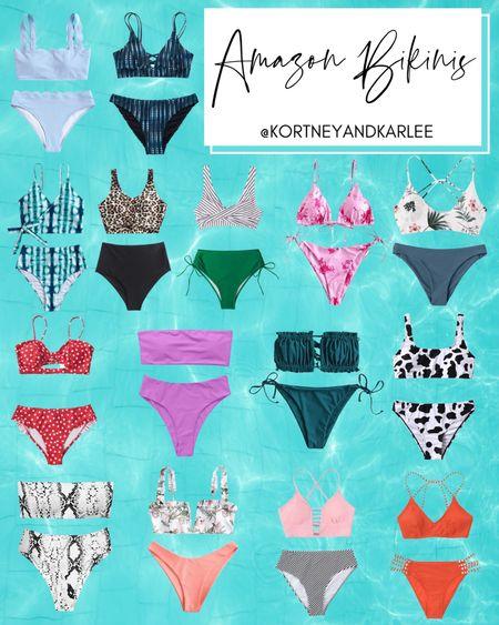 Amazon Bikinis  Amazon swim | Amazon swimsuits | swim at Amazon | Amazon bikini | bikini | new swimsuits | new swimsuits at Amazon | summer swimsuits | spring swimsuits | Amazon style | Amazon fashion | Amazon top rated swim | Amazon top rated bikinis | Amazon summer swimsuits | Amazon travel | Amazon spring fashion | amazon summer fashion | Kortney and Karlee | #kortneyandkarlee #LTKunder50 #LTKunder100 #LTKsalealert #LTKstyletip #LTKSeasonal #LTKtravel #LTKswim @liketoknow.it #liketkit