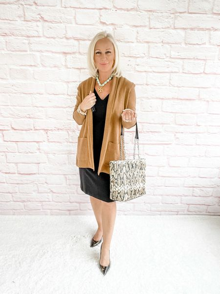 Blazer Look / Work Blazer / Workwear / Work Wear / Office Look / Office Outfit / Business Casual / Office Casual / Work Outfit / Tory Burch / Kate Spade /  Coach Handbags / Handbag /petite / over 40 / over 50 / over 60 / Fall Outfit / Fall Fashion    #LTKitbag #LTKworkwear #LTKSeasonal