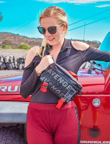 I love rocking a nice Avengers style! Especially if it matches my Jeep ❤️🖤 Can't wait to bring this Fanny pack to more places   #LTKfit #LTKunder50 #LTKsalealert