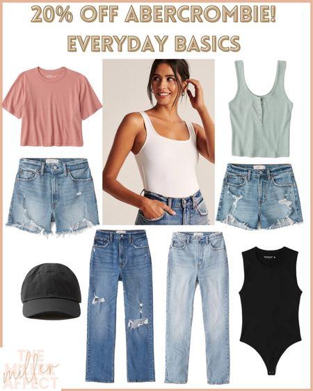 Everyday Summer Basics! 20% off at Abercrombie!! Use code: LTKAF2021  Their shorts are some of the BEST! http://liketk.it/3hnsW @liketoknow.it #liketkit #LTKDay #LTKsalealert #LTKunder50
