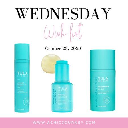 Wednesday Wish List: Skincare Edition http://liketk.it/2ZP0q #StayHomeWithLTK #LTKbeauty #skincare #tula #liketkit @liketoknow.it