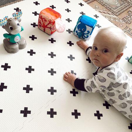 Baby play mat & toys http://liketk.it/2Q8ox #liketkit @liketoknow.it #LTKbaby