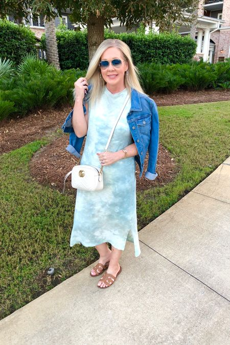 Memorial Day Weekend outfit idea.  Summer midi dress.  Wearing size S.   http://liketk.it/3g5wU #liketkit @liketoknow.it #LTKunder50