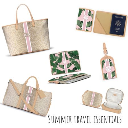 Ready, set, let's travel ✈️🌴💕 Do you guys have any travel plans this summer?! If so @barringtongifts has you covered 🙌🏻 Today on adailydoseofclass.com, I'm sharing my Summer travel essentials. LINK IN BIO to see my personalized designs STEP BY STEP ✨ Screenshot this post & follow me in the @liketoknow.it app to shop yours now 👉🏻 http://liketk.it/2Cvft  • • •  #liketkit #LTKfamily #LTKitbag #LTKspring #LTKtravel #LTKunder50 #LTKunder100 #LTKtravel #travelessentials #travelstyle #travelblogger #LTKsummer #summervacation #summeressentials