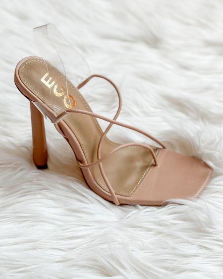 The cutest high heels nude sandals for a cute yet sassy outfit! #LTKshoecrush #LTKunder50 #nudesandals #nudeheels #toeringsandals #summersandals http://liketk.it/3dtRR #liketkit @liketoknow.it