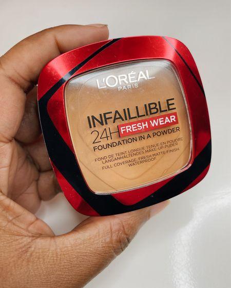 L'oreal infaillible poeder foundation. Dekt ongelofelijk goed. Spray na het aanbrengen met een face mist voor minder poederig effect. 🤩   #LTKeurope #LTKbeauty #LTKstyletip