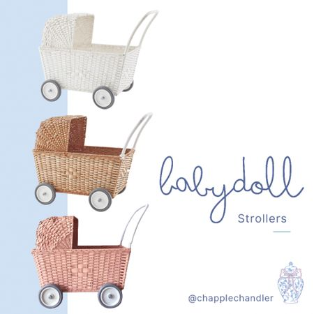 Baby doll stroller dollhouse baby doll pram strollers buggy babydoll   #LTKbaby #LTKGiftGuide #LTKkids