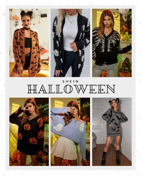 Halloween sweaters | Halloween outfits | Halloween t-shirts | fall outfit | sweater  #LTKHoliday #LTKunder50 #LTKSeasonal