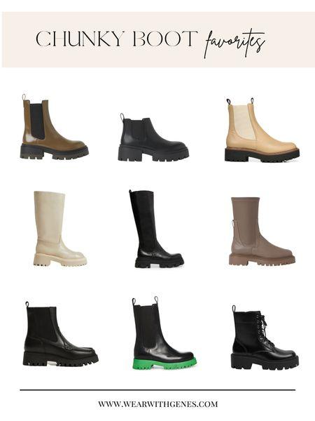 My favorite chunky boots   #LTKstyletip #LTKshoecrush #LTKSeasonal
