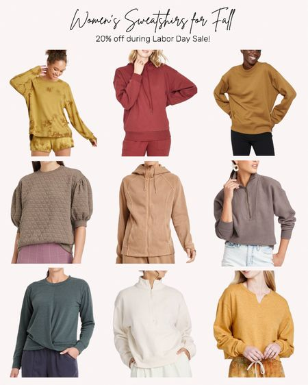 Women's clothing, sweatshirt, fall, autumn, Target, sale  #LTKunder50 #LTKstyletip #LTKSeasonal