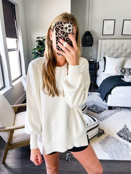 Free people dupe sweater from amazon! Size medium!   #LTKunder50 #LTKstyletip #LTKsalealert