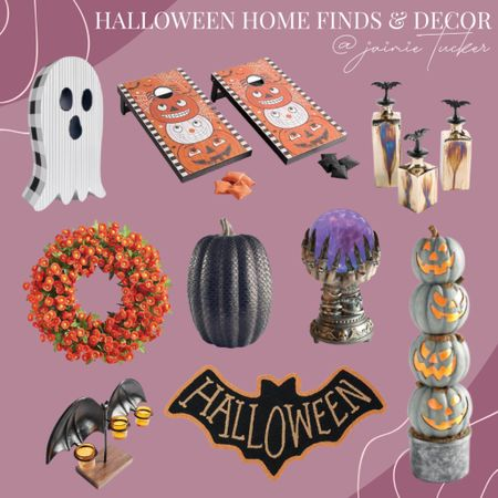 Get into the spirit of Halloween by decorating your home with these awesome seasonal decor finds! | #halloweendecor #homedecor #seasonaldecor #seasonalhalloweendecor #homefinds #bestsellers #entrywaydecor #porchdecor #seasonalhomegoods #JaimieTucker  #LTKSeasonal #LTKhome #LTKkids