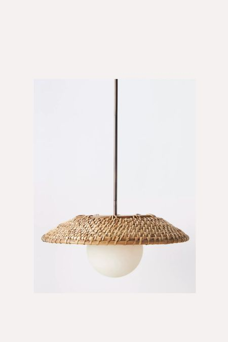 Chose this light for our loft office. It's going in a tricky corner beside a sofa.  Love hanging pendant lights in dark corners to bring a little life to them    #LTKstyletip #LTKhome