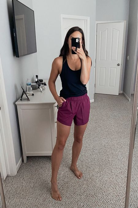 Walmart running shorts/workout shorts only $7! These have great length on the inseam and booty coverage. Wearing a medium   #LTKunder50 #LTKfit #LTKsalealert