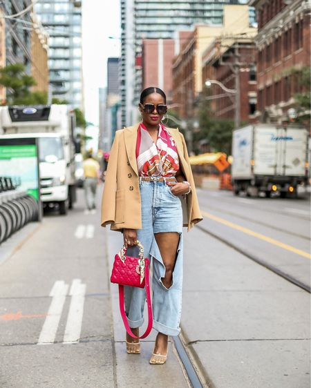 I might not be going to New York fashion week this year, but I did have a street style moment on the streets of Toronto during my trip. It was so nice to be back home after two years! Toronto is also the first country that I have been to outside of the US since the pandemic started. Traveling during the pandemic is definitely no fun, especially to a country that is as strict as Canada.  AnyWho have you guys traveled outside of the country, and what was your experience like?     #LTKitbag #LTKunder100 #LTKstyletip