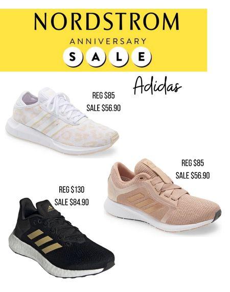 Nordstrom anniversary sale athletic shoes                Nsale  Adidas  Tennis shoes  Running shoes  Athleisure   #LTKsalealert #LTKunder100 #LTKshoecrush