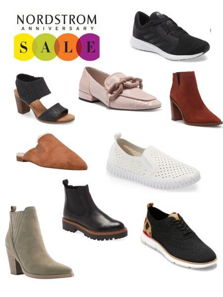 Nordstrom Anniversary Sale NSale Shoes Loafers Boots Tory Burch Adidas Steve Madden   #LTKfit #LTKshoecrush #LTKsalealert