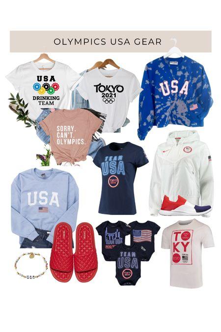 USA Olympics gear 🇺🇸 outfits for the whole family   #LTKtravel #LTKmens #LTKshoecrush