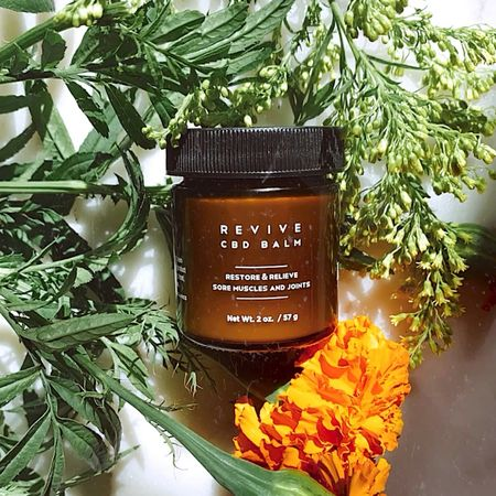 As an active individual who goes to the gym, I have found that sore muscles can be taken care of with the Revive CBD Balm! It's a natural holistic approach compared to medicine, and leaves me feeling good about what I'm allowing on and in my body.   If you are someone who is active, you NEED to check it out. Also helpful for soothing menstrual cramps.  #cbdbalm #leeforganics #organicselfcare #nontoxicliving  #LTKfit #LTKunder50 #LTKbeauty