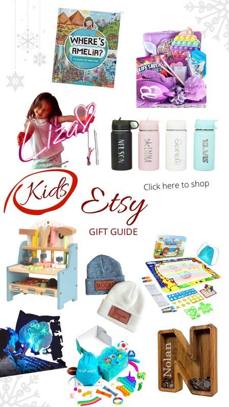 Etsy Kids gift guide   #LTKGiftGuide #LTKkids #LTKHoliday