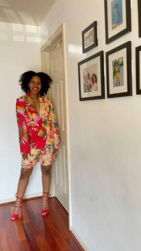 Five ways to style a style a Farmrio Short Suit  #LTKfit #LTKstyletip #LTKDay