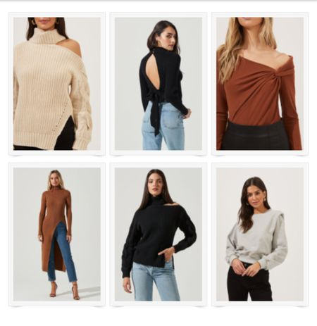 The cutest sweaters to keep it classy this season! #sweater #offtheshoulder   #LTKSeasonal #LTKHoliday #LTKstyletip