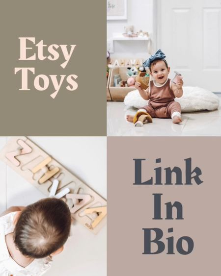 Montessori toys from Etsy http://liketk.it/2RYQ9 #liketkit @liketoknow.it #LTKunder50 #LTKbaby #LTKkids