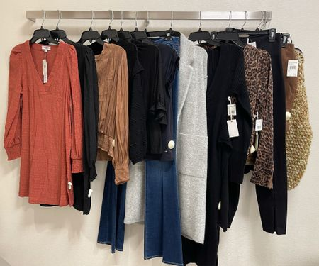 A few things our clients are loving in their #nsale dressing rooms this week just in time for public access! 🧡   #LTKsalealert #LTKworkwear #LTKunder100