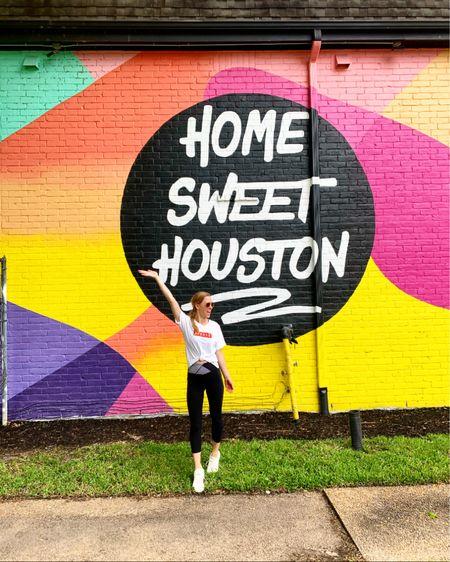 Tagging some fun Houston tshirts and Texas tees http://liketk.it/2O1SE #liketkit @liketoknow.it #StayHomeWithLTK #LTKMothersDay #LTKfit houston blogger, loungewear, sports tee