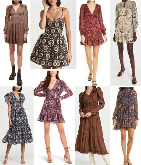 Fall Dress, Fall Outfit Ideas, Alice + Olivia Dress  #LTKstyletip #LTKSeasonal