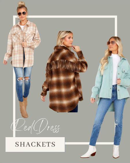 Shacket | shirt jacket | fall outfit     #LTKstyletip #LTKunder100 #LTKSeasonal