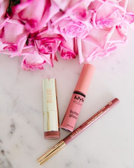 My fav AFFORDABLE Walmart finds!! This long-lasting lip liner, smooth lipstick, and NYX Butter Gloss are all inexpensive and so worth it! #liketkit @liketoknow.it #LTKbeauty http://liketk.it/2DCUt