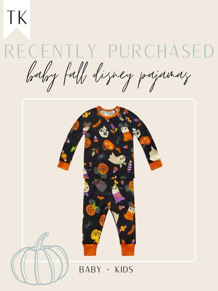 Disney baby halloween pajamas   #LTKSeasonal #LTKbaby #LTKbump