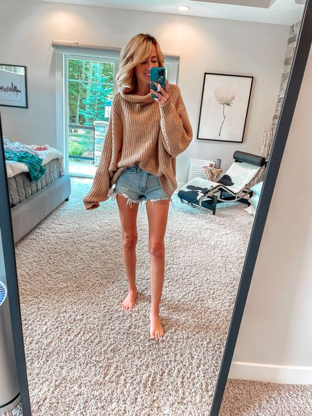 Nordstrom sale find Chunky turtleneck free people sweater  Cozy knit    #LTKstyletip #LTKsalealert