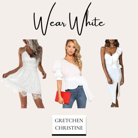 Perfect items for wearing white!   #LTKfit #LTKstyletip #LTKbeauty