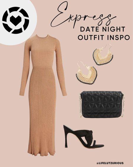Express Outfit of the Day - Date Night Outfit Inspo, Fall Outfit   #LTKsalealert #LTKstyletip #LTKSale