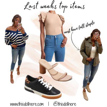 Fall fashion, jacket, oversized sweater, sneakers, heels  #LTKSeasonal #LTKunder50 #LTKstyletip