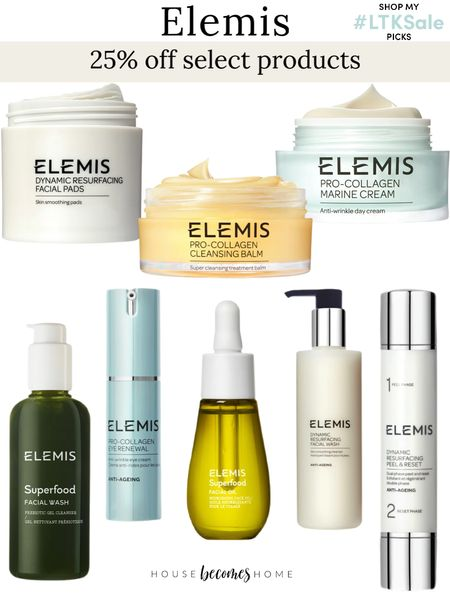 LTK Early Gifting Sale! 25% off selected Elemis products!  Skincare, beauty, moisturizer, face wash   #LTKGiftGuide #LTKSale #LTKbeauty