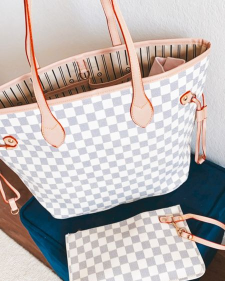 #liketkit @liketoknow.it http://liketk.it/3jZpT #LTKitbag #LTKunder50 #LTKstyletip        Tote bag , casual style , purse , checkered tote , Walmart finds , Walmart fashion , gifts for her , women's accessories